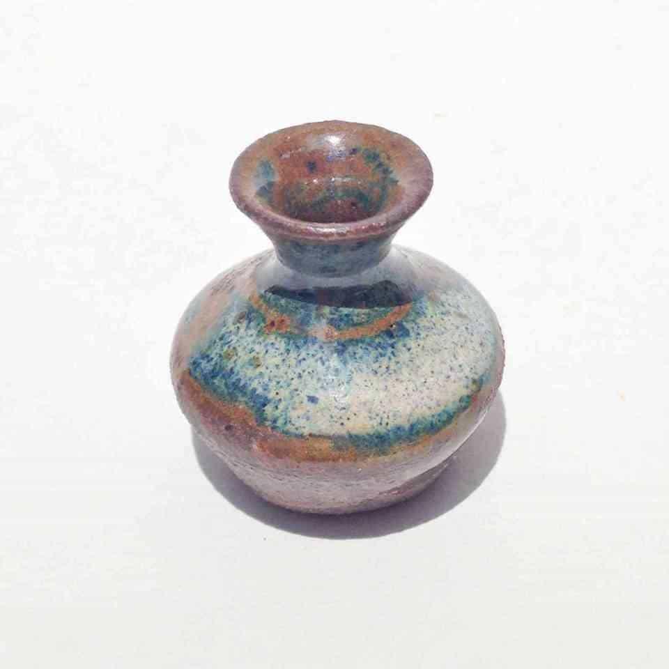 Miniature Clear Sky on Stone Vase - MommaDOOD