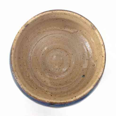 oatmeal inside on laguna clay calico on a momma dood cup